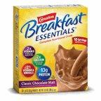 Carnation Breakfast Essentials Classic Chocolate Malt Powder Drink Mix, 12.6 Ounce - 6 per case.