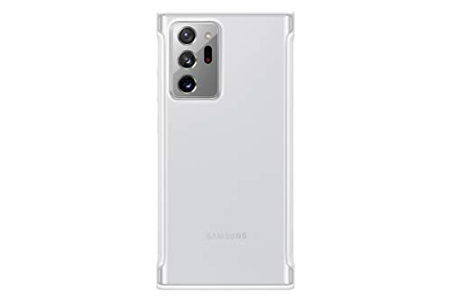 Image of SAMSUNG Galaxy Note 20 Ultra  Case, Clear Protective Cover - White (