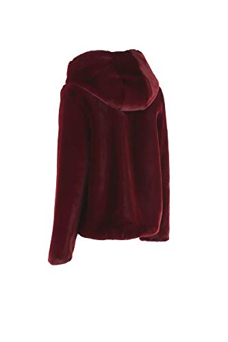 Inverno Jw1644 T Donna 2018 Autunno Frcn Ecopelliccia 19 Bordeaux Censured Ct0nwxaq5
