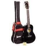 Lauren LAPKMBK 30-Inch Student Guitar Package - Black by Lauren