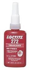 Loctite 272 Threadlocker - Red Liquid 250 ml Bottle - Shear Strength 2900 psi, Tensile Strength 200 psi [PRICE is per BOTTLE]