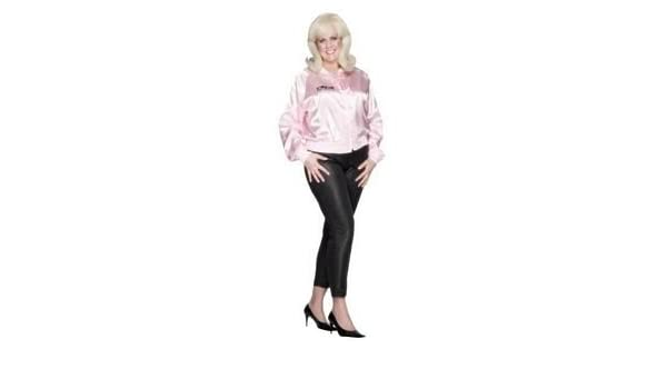 PINK LADY JACKET GREASE FANCY DRESS COSTUME - 14/SIZE UK 16/18 ...