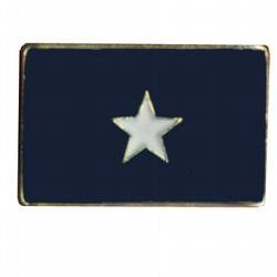 Bonnie Blue Lapel Pin 1 in x 1/2 in Metal Company Lapel Pin