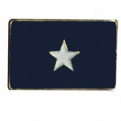 Bonnie Blue Lapel Pin 1 in x 1/2 in Metal Company Lapel Pin