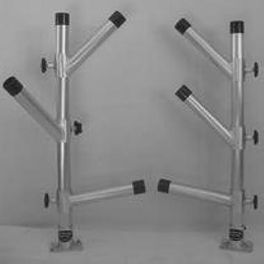 Adjustable Triple Tree Rod Holder Dipsy Pair