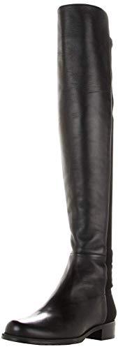 Stuart Weitzman Women's 5050 Over-the-Knee Boot,Black Nappa,8.5 M US (Stuart Weitzman Over The Knee Boots Review)