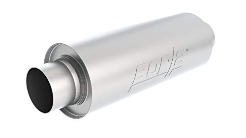 Borla 40722 XR-1 Stainless Multicore Racing Mufflers Center/Center All Venues Requiring Highest Flow Muffler-Space Allowing Round 3.5 in. Inlet/Outlet 16 in. Case Size 6.25 in. Dia. XR-1 Stainless Multicore Racing Mufflers