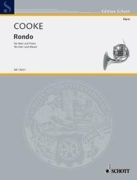 Cooke: Rondo in Bb major (Horn in F & Piano) by Cooke, Arnold (2003) Sheet music