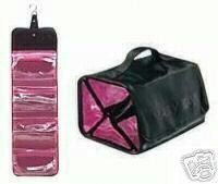 073b6246dd0d Mary Kay Hot Pink & Black Mary Kay Travel Roll up Bag Cosmetic ...