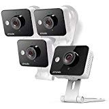 (Zmodo Wireless Two-Way Audio HD Home Security Camera (4 Pack) with Night Vision)