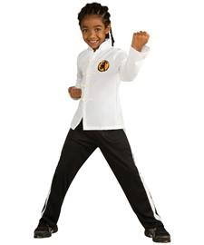 Deluxe Karate Kid Child Halloween Costume (Medium) -