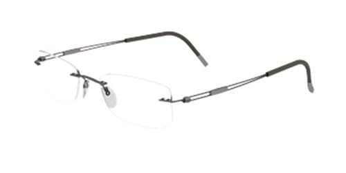 Silhouette Eyeglasses Titan TNG 5225 6058 Camouflage Gree...