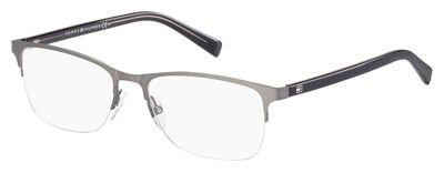 Tommy Hilfiger Thilfiger 1453 0B3Y Matte Dark Ruthenium Gray Eyeglasses