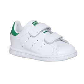 Adidas Stan Smith Cf Td 3-9 blanco - White Green Velcro
