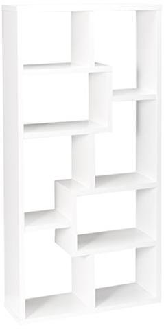 ioneyes Home Furnishings 800136 Casual Bookcase, - Kit Display Interlocking