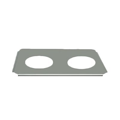 Thunder Group 2 Holes Adaptor Plates, 8-1/2-Inch