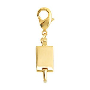 Clicksecure Gold Plated Fashion Metal Magnetic Clasp