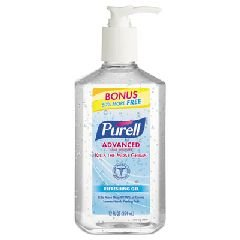 PURELL Advanced Instant Hand Sanitizer Gel, 12oz Pump Bottle