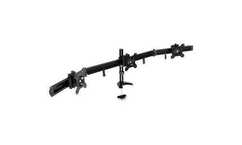 DAC MP-210 Flex Triple Monitor Arm Black With Grommet And Desk Base -  FIRST BASE, 02226