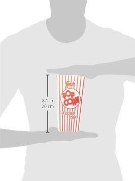 48E Open Top Popcorn Box (500/Case) by Snappy Popcorn (Image #2)