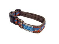 Quick Dry Comfortable Air Dog Collar(Grey Trout)(Small)
