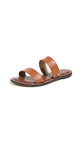 Sam Edelman Women's Gala Slides, Saddle, Tan, 4 M US