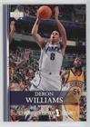 Deron Williams (Basketball Card) 2007-08 Upper Deck - [Base] - Championship Court #84 (Championship 2007 Basketball)