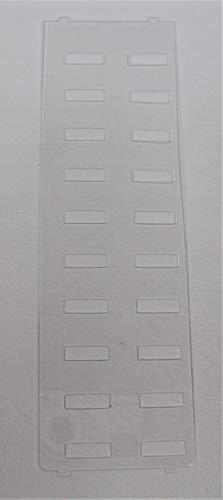 - Desi Plastic Overlay (aka Label Cover) for Toshiba DKT3020-SD DKT3220-SD Phone