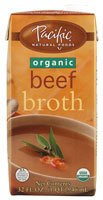 Pacific Natural Foods Organic Broth Beef -- 32 fl oz