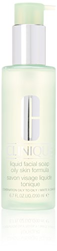 Clinique Liquid Facial Soap Oily Skin Formular 6F39 for Unisex, 6.7 Ounce