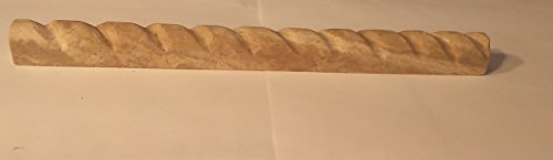 Paredon 1 X 12 Travertine Rope Liner - Box of 5 pcs.