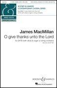 Give Thanks Music Sheet - O Give Thanks Unto the Lord - For SATB divisi and organ - SATB divisi, organ - SATB DIVISI - Sheet Music