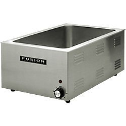 Fusion 509FC Commercial Countertop Food Warmer Stainless Steel