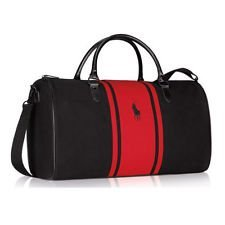 Ralph Lauren World Of Polo Red and Black Weekend / Travel / Gym ...