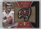 Brad Johnson #19/25 (Football Card) 2003 Upper Deck Sweet Spot - Classics Embroidered Patch - Team Logo Gold #P-BJ Embroidered Brads