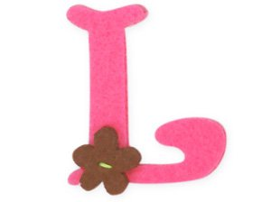 pink iron on letters pink felt alphabet letters iron on 25mm motif 24005 | 21Gq4ErYB6L