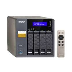 Qnap 4-Bay, 16TB(4x 4TB NAS Drive) Intel Braswell Quad-Core 1.6GHz CPU (TS-453A-8G-44R-US) by QNAP