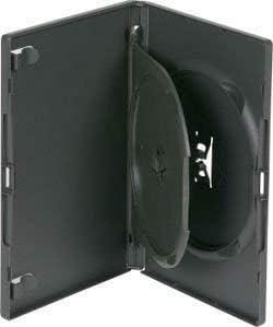 Dragon Trading - Estuche para 3 discos de DVD con bandeja basculante, color negro: Amazon.es: Electrónica