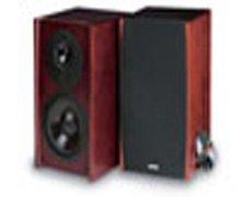 Cambridge SoundWorks Newton Series M80 Bookshelf Speakers Mahogany