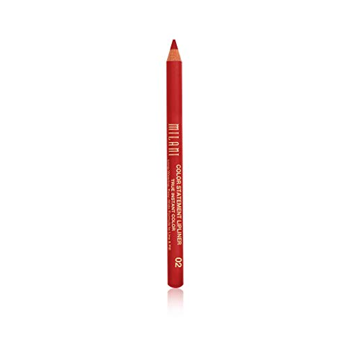 Milani Color Statement Lipliner - True Red (0.04 Ounce) Cruelty-Free Lip Pencil to Define, Shape & Fill Lips