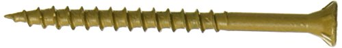 Hillman Fasteners 48416 5 LB 2.5x10 Tan Screw (Best Way To Get A Stripped Screw Out Of Wood)
