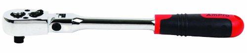 AMPRO T29858 Safety Lock Flex Ratchet 1/2-Inch by AmPro