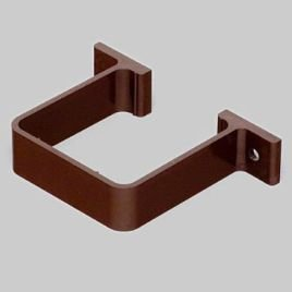 2 x Marley Guttering Clips RCE1 for 65mm Square Downpipe (Brown) Marley Plumbing and Drainage RCE1br