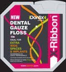 Cheap Idontix X-Ribbon Dental Gauze Floss 12M Roll