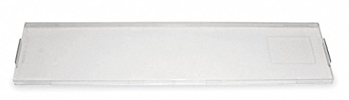 - Clear Block Cover, 1 EA, For Use With Modular 66 Cross Connect Blocks - Pack of 5