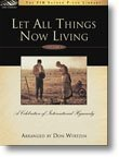 img - for Let All Things Now Living, Vol. 1: A Celebration of International Hymnody book / textbook / text book