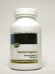 Designs For Health - Taurine 1000mg Capsules