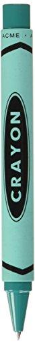 ACME Studios Inc Teal Crayon Retractable Roller Ball (PACME3TLRR)