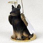 Belgian Tervuren Pet Angel Ornament Belgian Tervuren Dog Figurine