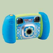 Real 1.3 megapixel camera with 4x digital zoom, with 3 included games